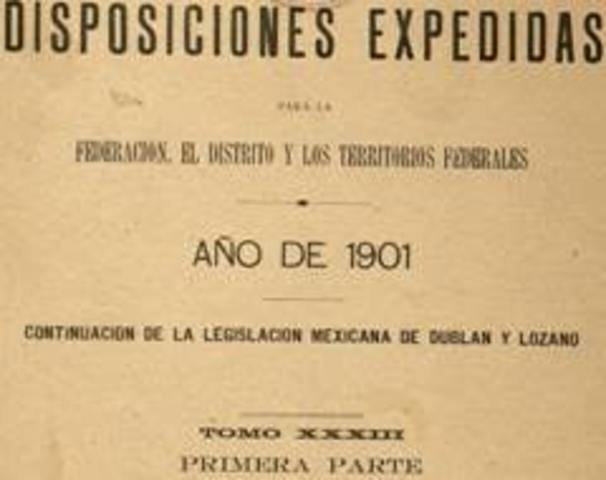 Se expide la primera ley del petroleo