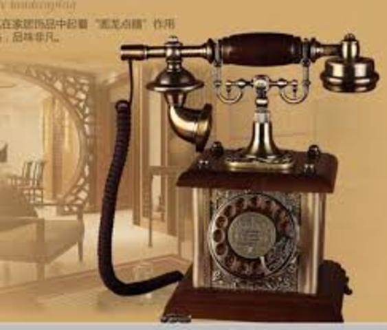 Se introdujo el telefono