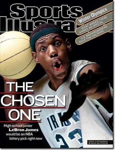 """Named """"The Choses One"""" by Sports Illustrated"""