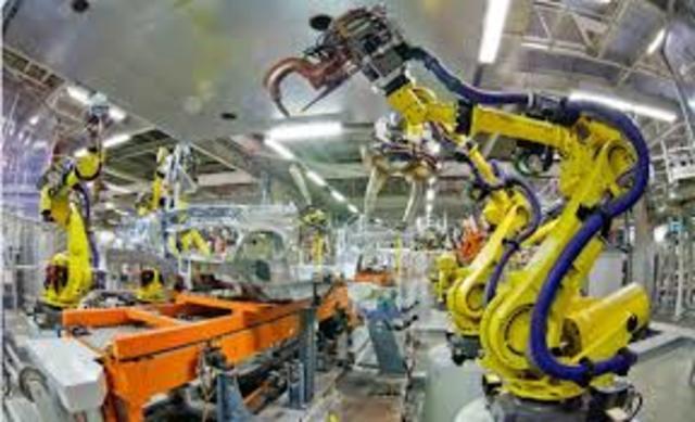 INCREMENTO DE ROBOTS INDUSTRIALES