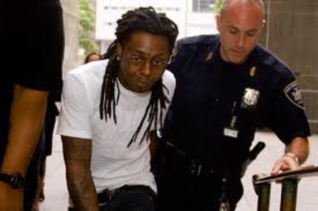 Began his 1 year Prison sentence