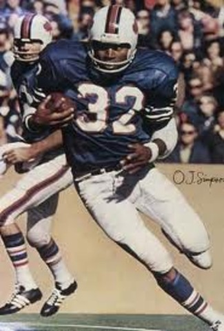 O.J. drafted to the Buffalo Bills