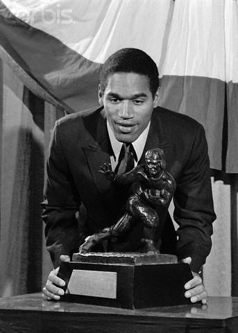 O.J. Wins the Heisman Trophy