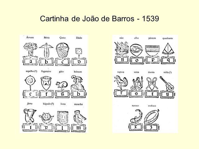 """""""A Cartilha"""", de João de Barros"""