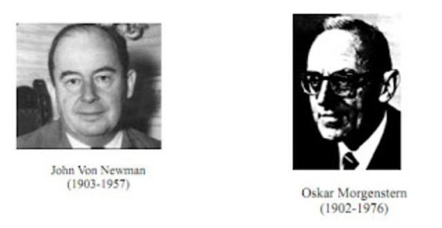John Von Newtman y Oskar Morgenstern