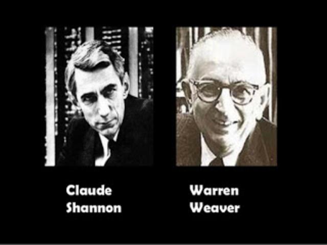 Claude E. Shannon y Warren Weaver