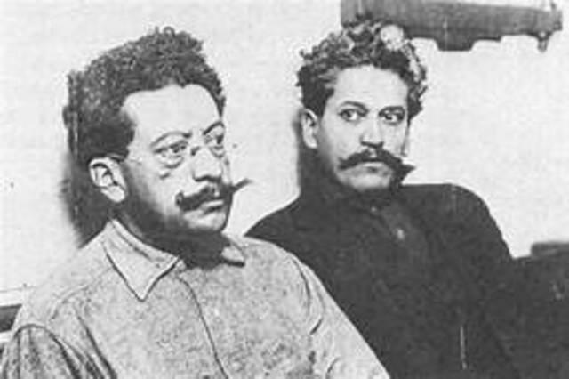 Ricardo Flores Magon y Camilo Arriaga