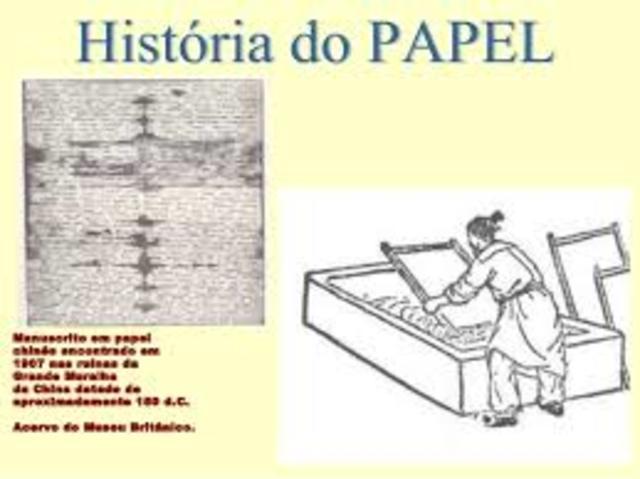 Invenção do papel