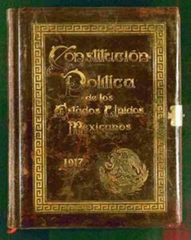 Promulgación de la Constitucion de 1917