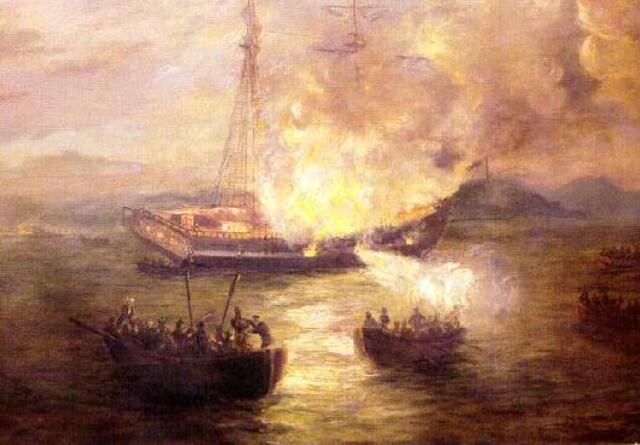 The Burning of the Gaspee.