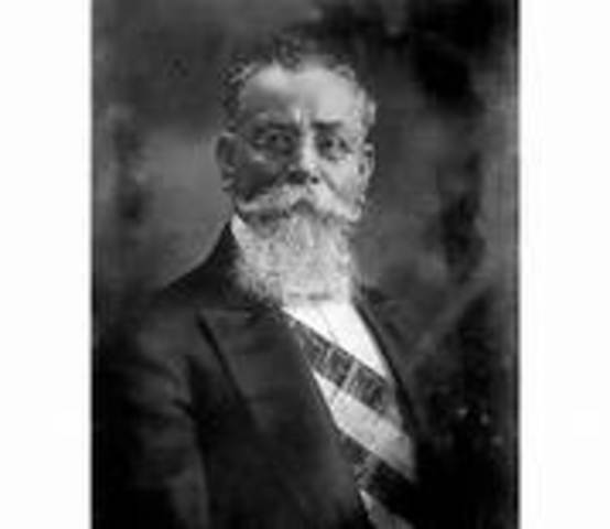 Carranza como presidente de la Republica
