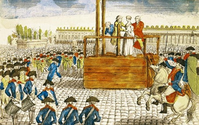Execution of Marie Antoinetted