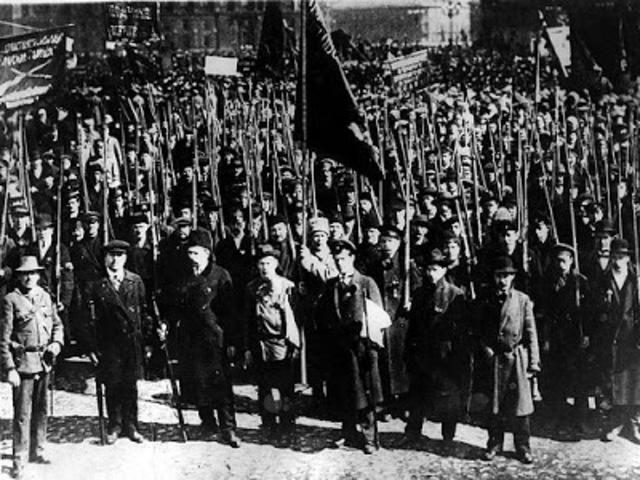Huelga en la fábrica Putílov