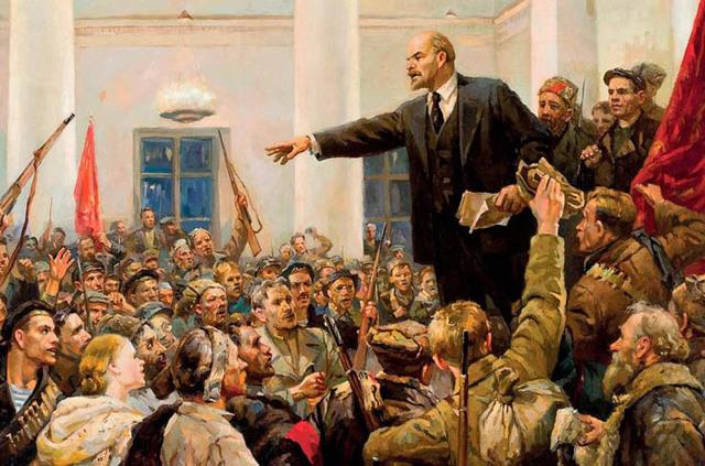 Conquista del poder por bolcheviques