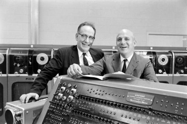 J. Presper Eckert y F.W Mauchly