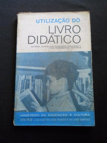 """""""Utilização do Livro Didático"""", MEC / COLTED"""
