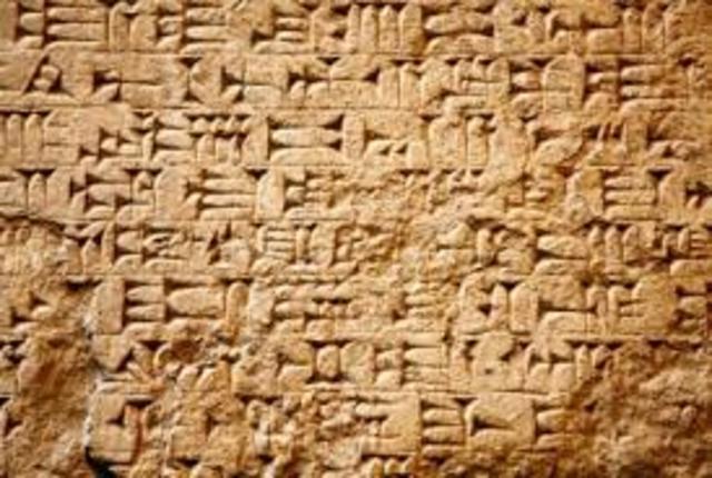 Surgimento da Escrita
