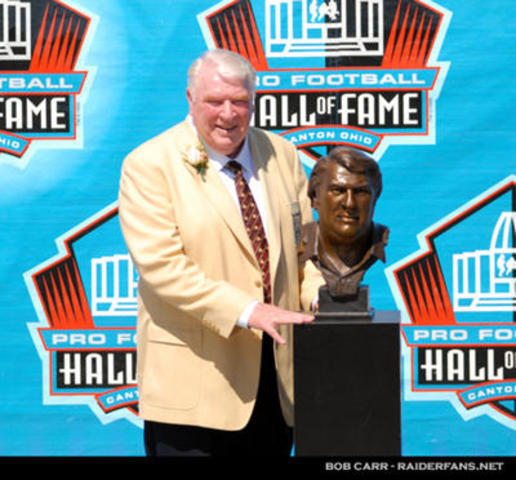 Inducted into the Hall of Fame