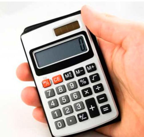 Calculadora de mão