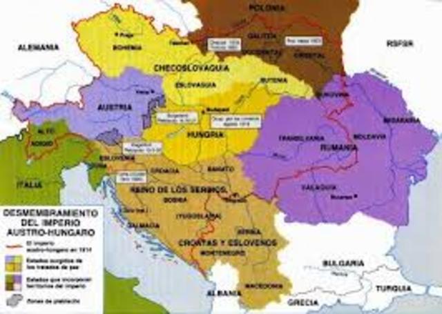 Austria-Hungría anexa los territorios