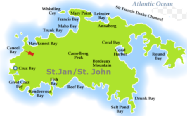 Danamark overtog Sankt Jan