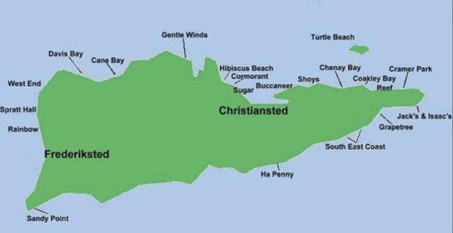 Danamark overtog Sankt Croix