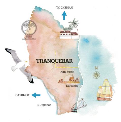Danmark solgte Trankebar og handelskontoret i Serampore