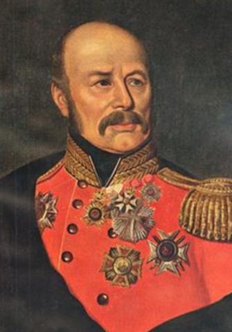 Peter Von Scholten erklærede slaverne for frie under et slaveopgør