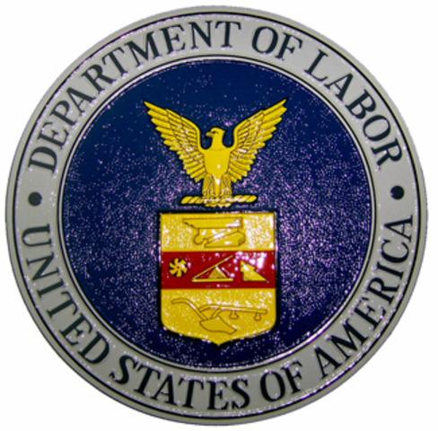 Federal Department of Labor Established