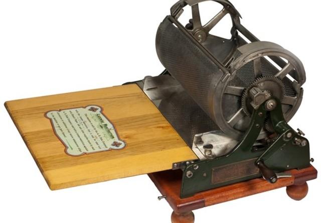 Mimeógrafo patenteado