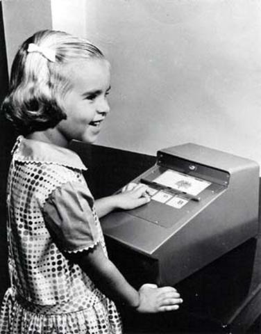 Máquina que fazia perguntas