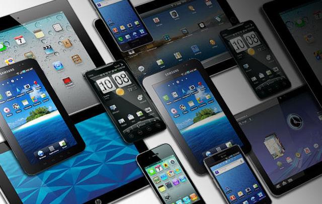 Smartphone e tablet na sala de aula