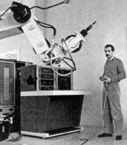 Primeros robots industriales.