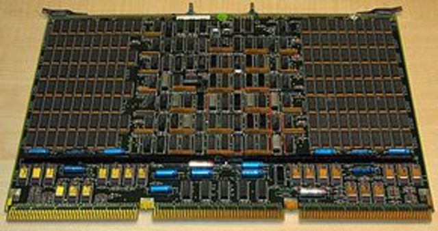 Primera memoria RAM.