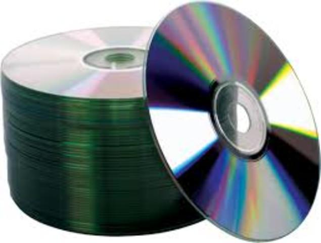 Aparición de los CD's