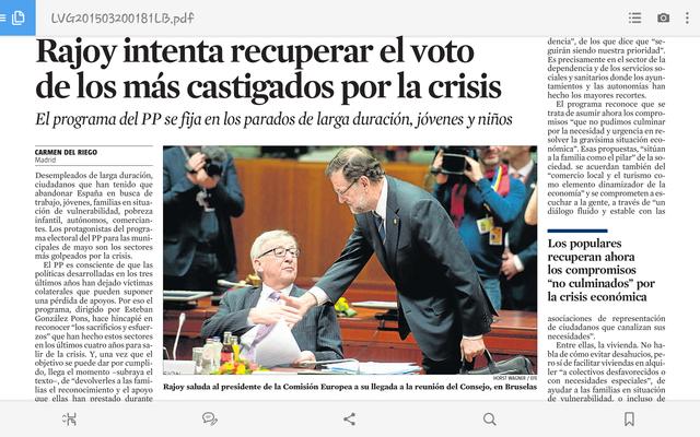 RAJOY INTENTA RECUPERAR EL VOT DELS MÉS CASTIGATS PER LA CRISI