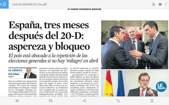 ESPANYA, TRES MESOS DESPRÉS DEL 20-D: ASPROR I BLOQUEIG