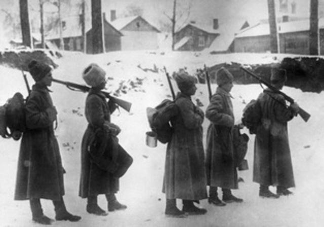 Participación de Rusia en la Gran Guerra
