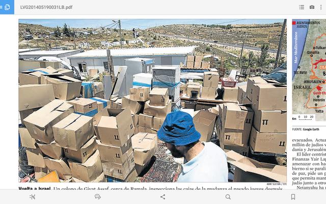 ISRAEL ESTUDIA EVACUAR CISJORDÀNIA