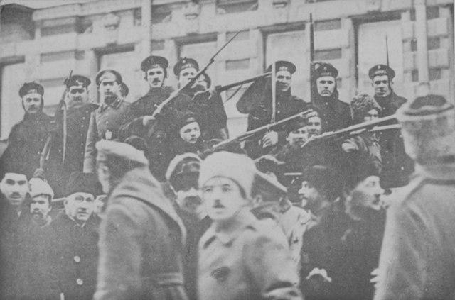 Toma de la Petrogrado