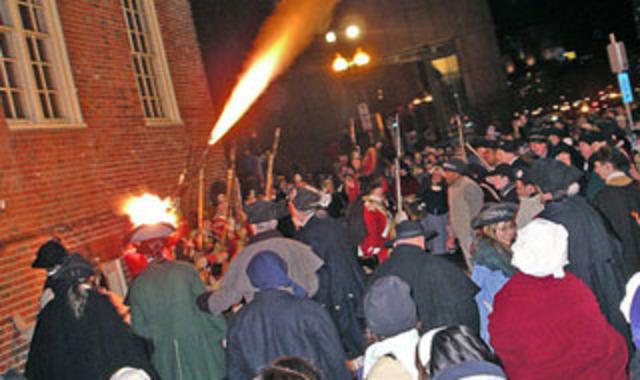 The boston massacre.