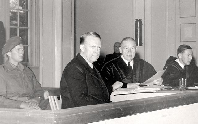 Vidkun Quisling arresteres og henrettes