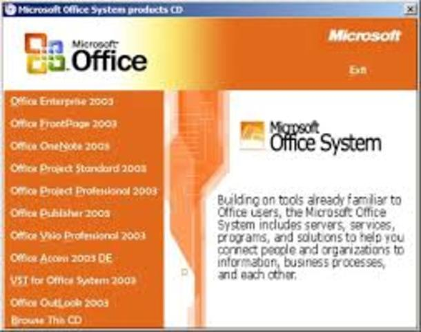 Llega Microsoft Office System