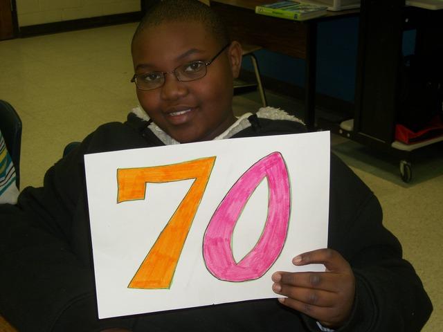 The Seventieth Day of School