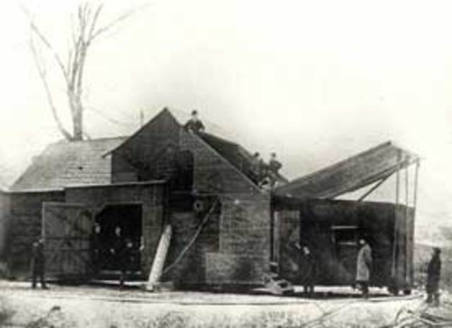 The First Motion Picture Studio