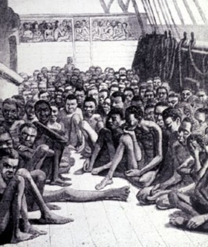 First Africans to arrive in Virginia