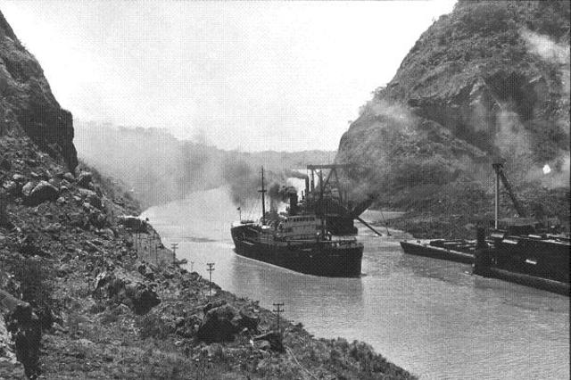 Building of Panama Canal