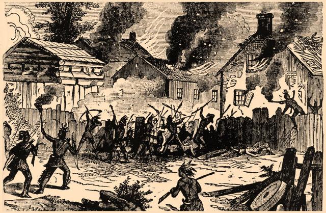 King Phillip's War in Massachusettes