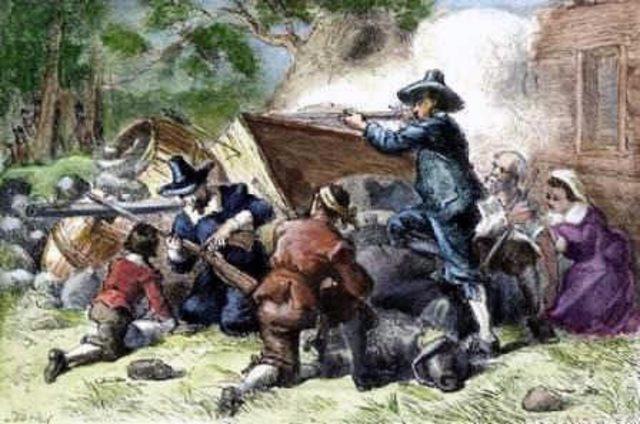 Bacon's Rebellion in Virginia