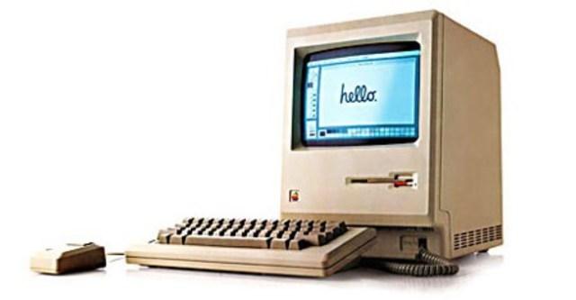 Apple presenta la Macintosh